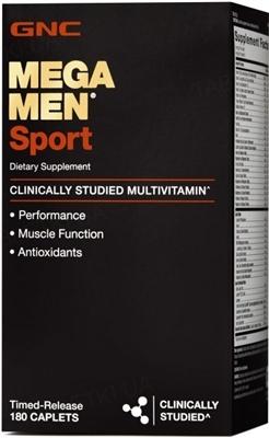 Витамины GNC Mega Men Sport, 180 капсул
