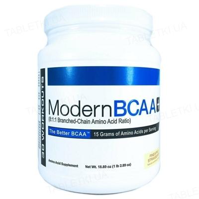 Аминокислота USP Labs Modern BCAA+ Pineaple strawberry, 1,34 кг