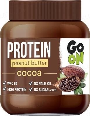 Арахисовая паста Go On Protein Peanut butter Cacao, 350 г