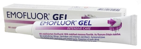 Гель Dr. Wild Emofluor Intesive Care со стабилизированным фторидом олова 0,4%, 18 мл