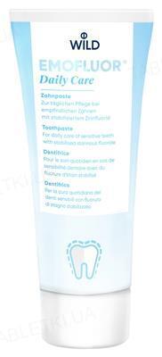 Зубная паста Dr. Wild Emofluor Daily Care со стабилизированным фторидом олова, 75 мл