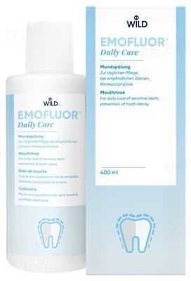 Ополаскиватель для полости рта Dr. Wild Emofluor Daily Care, 400 мл
