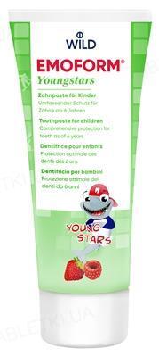 Зубная паста Dr. Wild Emoform Youngstars для детей, 6-12 лет, 75 мл