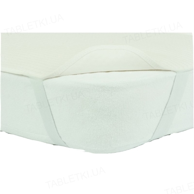 Наматрасник непромокаемый U-Tek Flacy на резинках по углам, 60 х 120 см