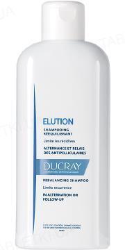 Шампунь Ducray Elution, восстанавливающий для ежедневного применения, 200 мл