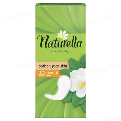 Прокладки ежедневные Naturella Green Tea Magic Normal, 20 штук