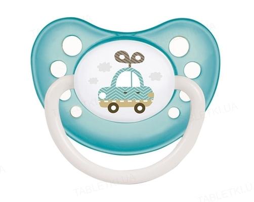 Пустышка силиконовая Canpol Babies Toys анатомическая 23/258_tur, 18+ месяцев, 1 штука