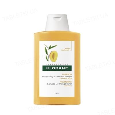 Шампунь Klorane Манго, для сухих волос, 200 мл
