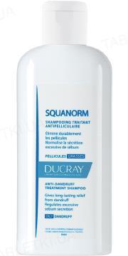 Шампунь Ducray Squanorm, против жирной перхоти, 200 мл
