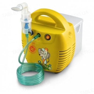 Ингалятор (небулайзер) Little Doctor LD-211С компрессорный желтого цвета