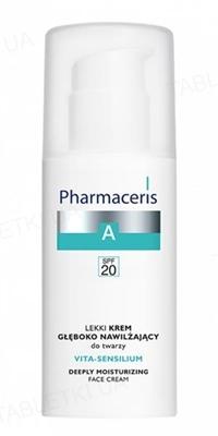 Крем Pharmaceris A Vita-Sensilium легкий, глубоко увлажняющий, для лица, SPF 20, 50 мл