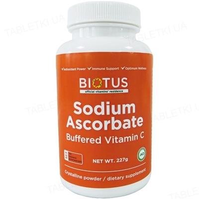 Витамин С Буферизованный Biotus порошок по 227 г в бан.