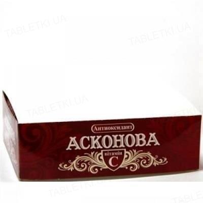 Асконова Антиоксидант таблетки №120 (10х12) в этикет.
