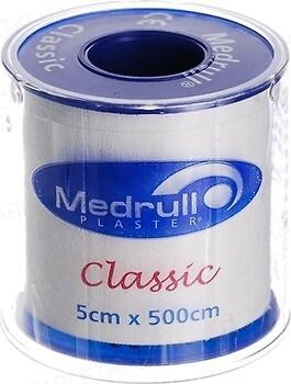 Пластир медичний Medrull Classic на тканинній основі, котушка, 5 см х 500 см