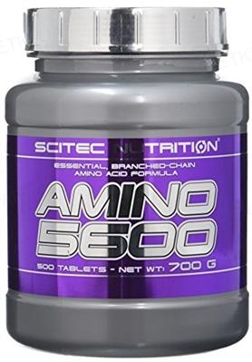 Аминокислотный комплекс Scitec Nutrition Amino 5600, 500 таблеток