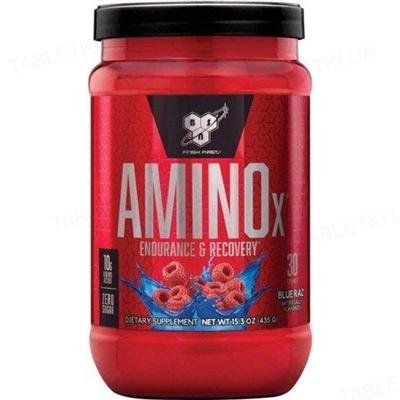 Аминокислота BSN Amino X Blue Raspberry, 435 г