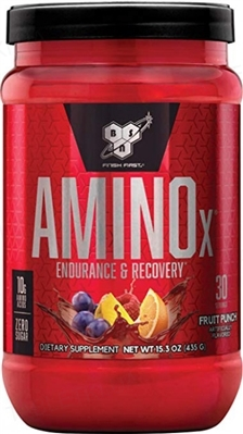 Аминокислота BSN Amino X Fruit Punch, 435 г