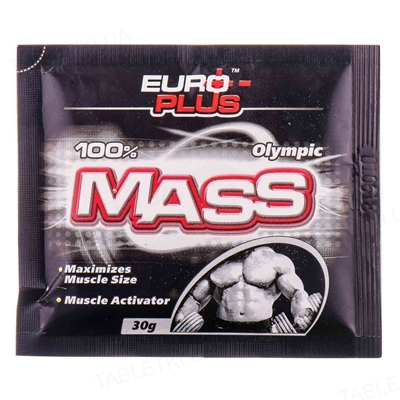 Гейнер Euro Plus Olympic Mass, 30 г