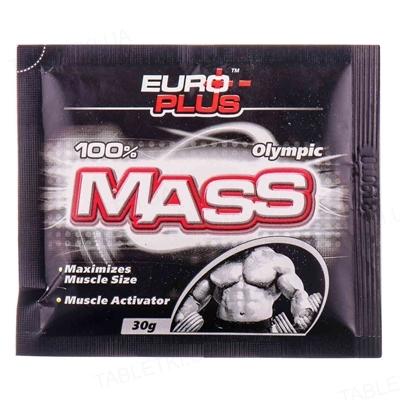 Гейнер Euro Plus Olympic Mass, 30 г