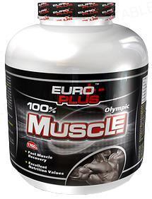 Гейнер Euro Plus Olympic Muscle, 640 г, банка