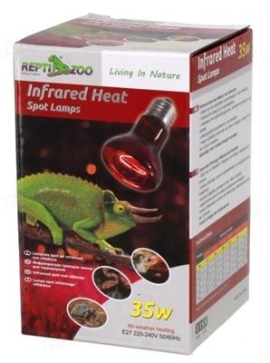 Инфракрасная нагревательная лампа Repti-Zoo Infrared Heat 35W