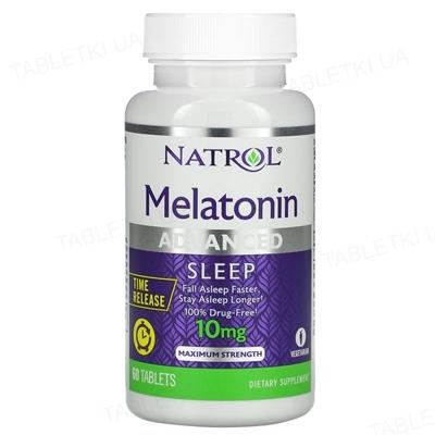 Мелатонин Natrol Melatonin Anvanced Sleep 10 мг, 60 таблеток