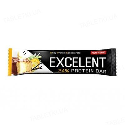 Батончик Nutrend Excelent protein bar Ананас-ваніль, 85 г