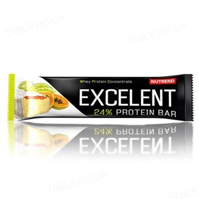 Батончик Nutrend Excelent protein bar Лайм + папайя, 85 г