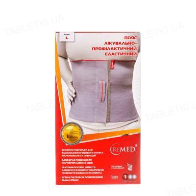 Пояс лечебно-профилактический ReMed R4103 эластичный, размер L