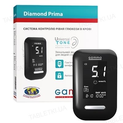 Глюкометр Gamma Diamond prima