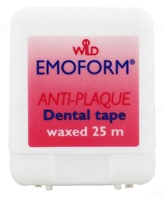 Зубная лента Dr. Wild Emoform вощеная, 25 м