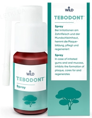 Спрей Tebodont с маслом чайного дерева, 25 мл