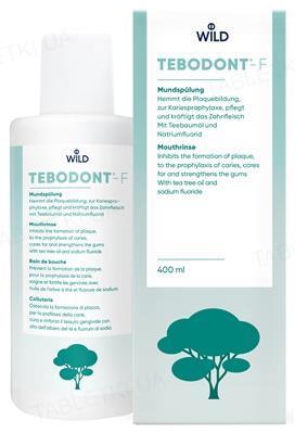 Ополаскиватель для полости рта Tebodont-F, 400 мл