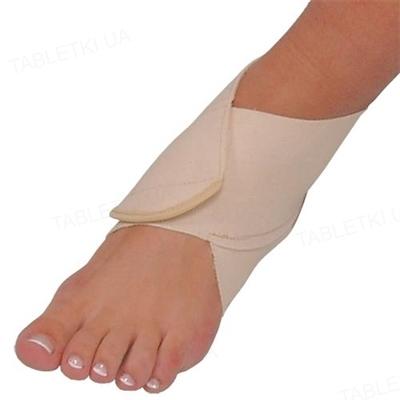 Бандаж на голеностопный сустав Алком 3001 хлопчатобумажный с застежкой, размер 3