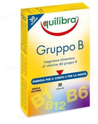 Эквилибра Комплекс витаминов В капсулы по 0,5 г №30