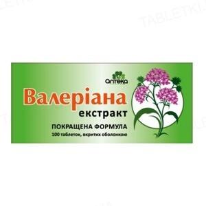 Валерианы экстракт Аптека №283 таблетки по 30 мг №100 в бан.