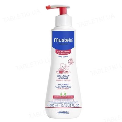 Гель для волосся та тіла Mustela для чутливої шкіри, 300 мл