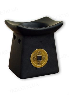 Аромалампа Ароматика Монета чорна