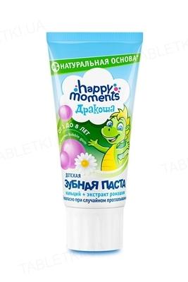 Зубная паста Дракоша Bubble - gum, гелевая, 60 мл