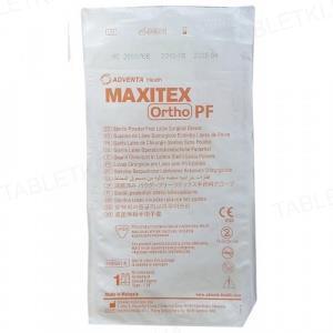 Перчатки хирургические Maxitex Ortho PF латексные без пудры, размер 7,5 стерильные, пара