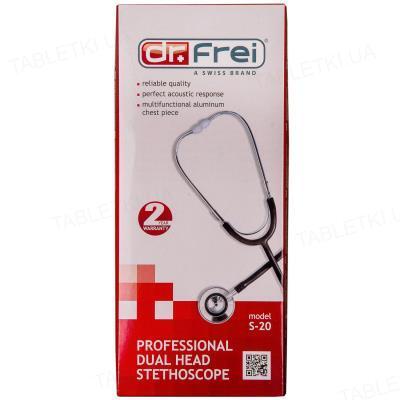 Стетоскоп Dr. Frei S-20 профессиональный с двусторонней головкой