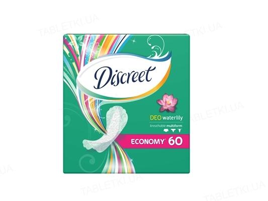 Прокладки ежедневные Discreet Deo Water Lily, 60 штук