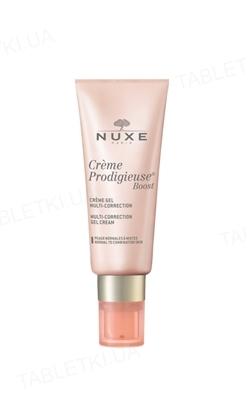 Гель-крем Nuxe Рrodigieuse boost мультикоррект для лица, для нормальной и комбинированной кожи, 40 мл