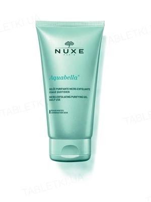 Гель-эксфолиант Nuxe Aquabella очищающий для комбинированной кожи 150 мл