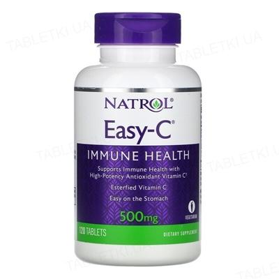 Витамины Natrol Easy-C 500 мг, 120 таблеток