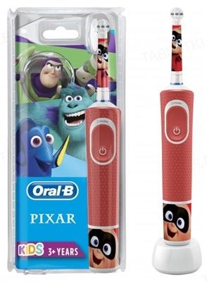 Электрическая зубная щетка Oral-B Kids, детская Лучшие мультфильмы Pixar, возраст 3+