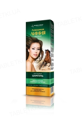 Шампунь Pharma Group Laboratories Лошадиная Линия Кератиновый, реконструкция поврежденных волос, 200 мл