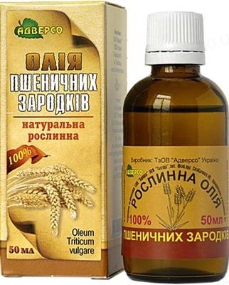 Растительное масло Адверсо пшеничных зародышей, 50 мл
