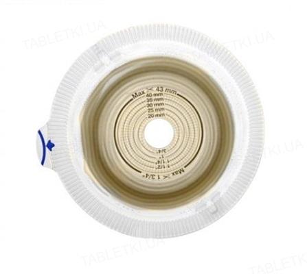 Калоприемник Coloplast 14283 Alterna Convex Light Extra стомический двухкомпонентный, пластина, фланец 60 мм, 15-43 мм, 5 штук