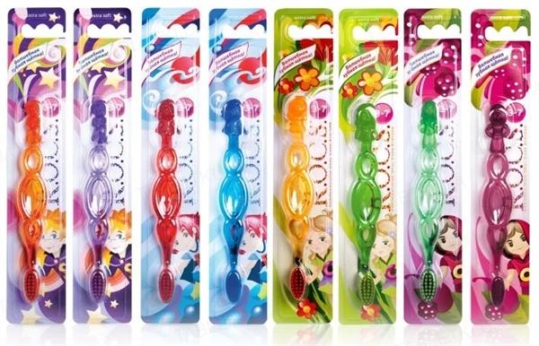 Зубная щетка R.O.C.S. Kids для детей от 3 до 7 лет, 1 штука